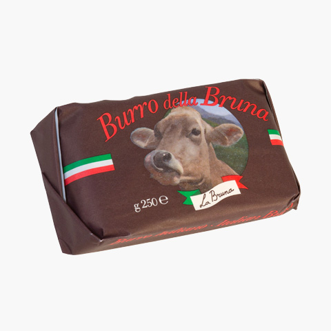 Burro della Bruna Italienskt Premiumsmör