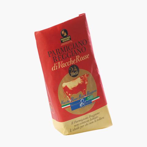 Parmigiano Reggiano di Vacche Rosse 24mån 500g