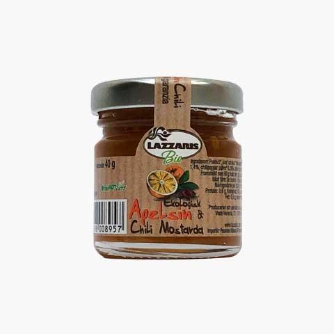 Ekologisk Apelsin & Chili Mostarda